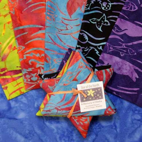 Alaska Sealife Batik Star