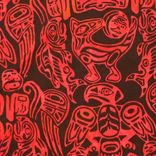 HF Batik Totemic Animals