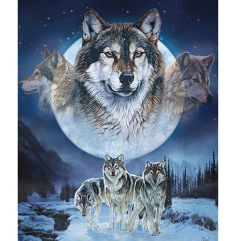 RB Dream Catcher Wolf Panel