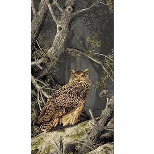 AN Majestic Woods Printed Panel - Owl