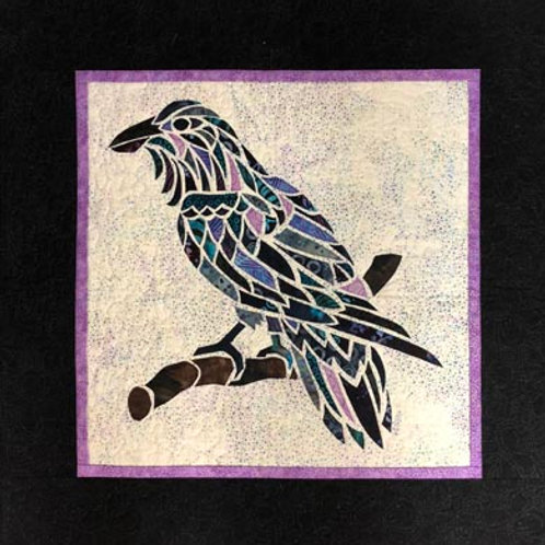 Alaska Mosaic Raven
