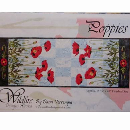 WF Poppies Table Runner Pattern