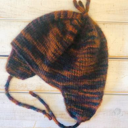 Qiviut Hat with Earflaps
