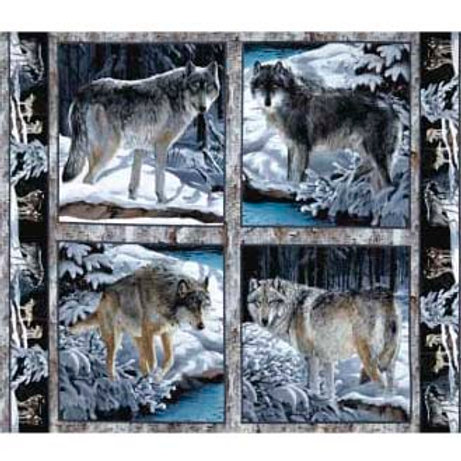 SC Silver Wolf Panel