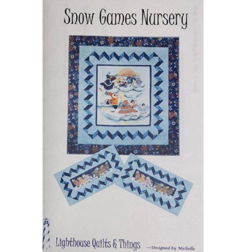 Snow Games Nursery Pattern