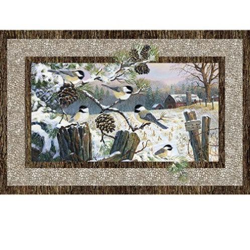 NC Winter Chickadee Panel