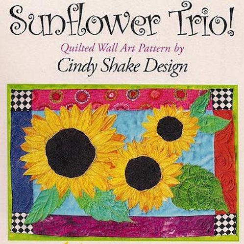 Sunflower Trio Pattern