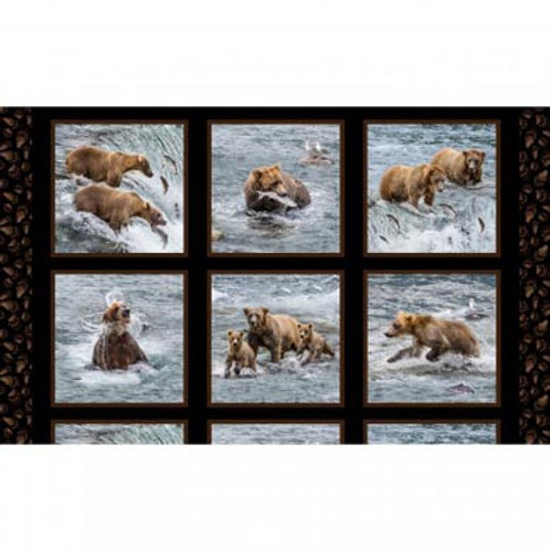 ES Fishing Bears Panel