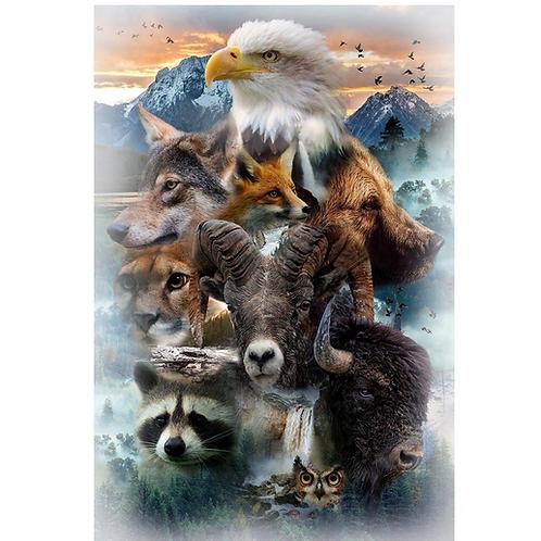 HF North American Animals Panel