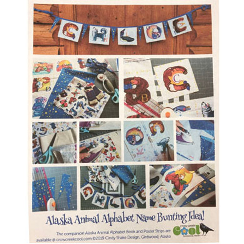 Alaska Animal Alphabet Name Bunting