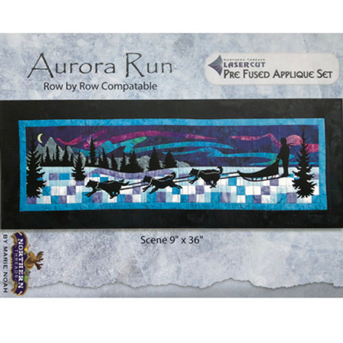 Aurora Run Applique Set