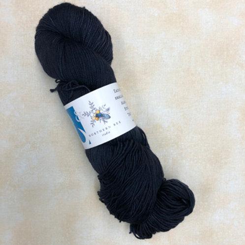 NB Yak Sock Yarn-Midnight