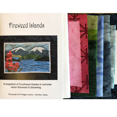 Fireweed Islands Quilt Kit