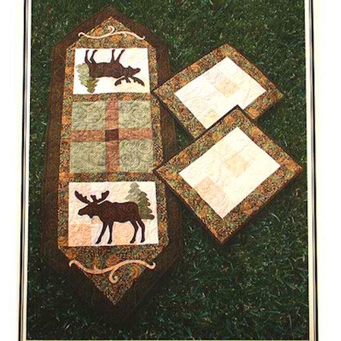Matty Moose Table Runner Pattern