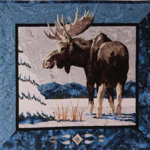 WF Moose in Spruce Quilt Kit