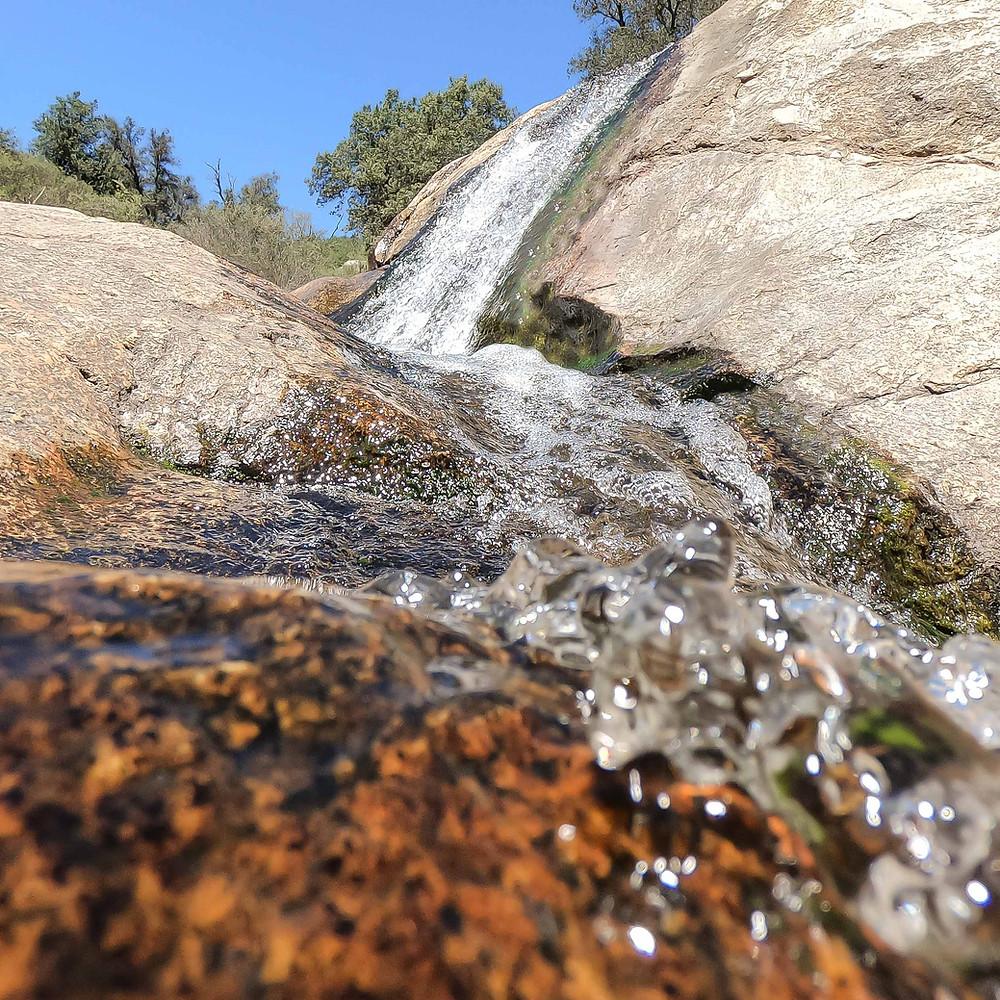 Green Valley Falls near Julian, CA.