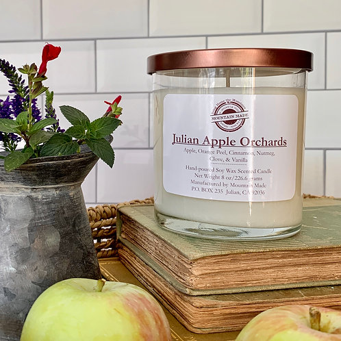 8oz Apple Orchards Soy Candle
