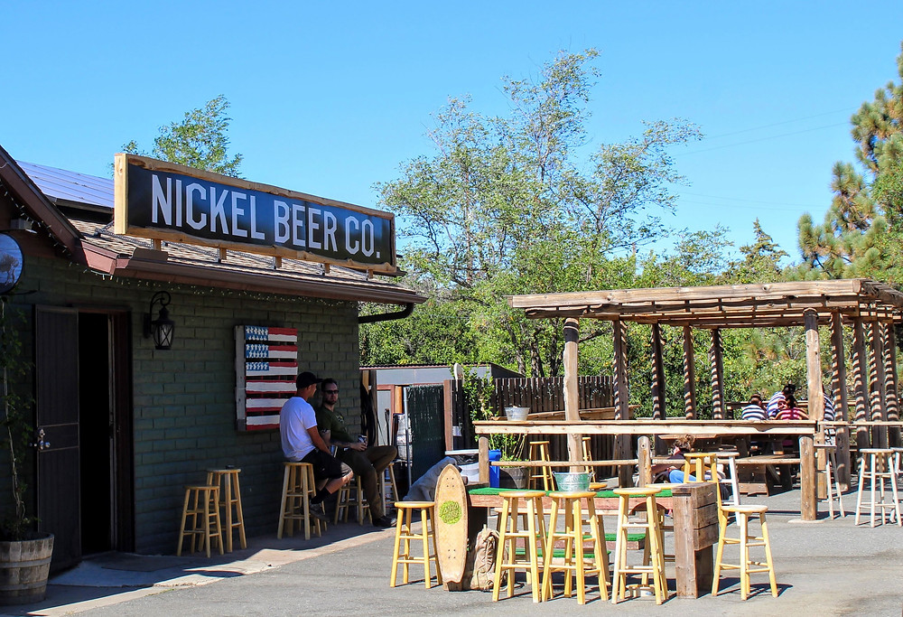 Nickel Beer Co. in Julian, Ca