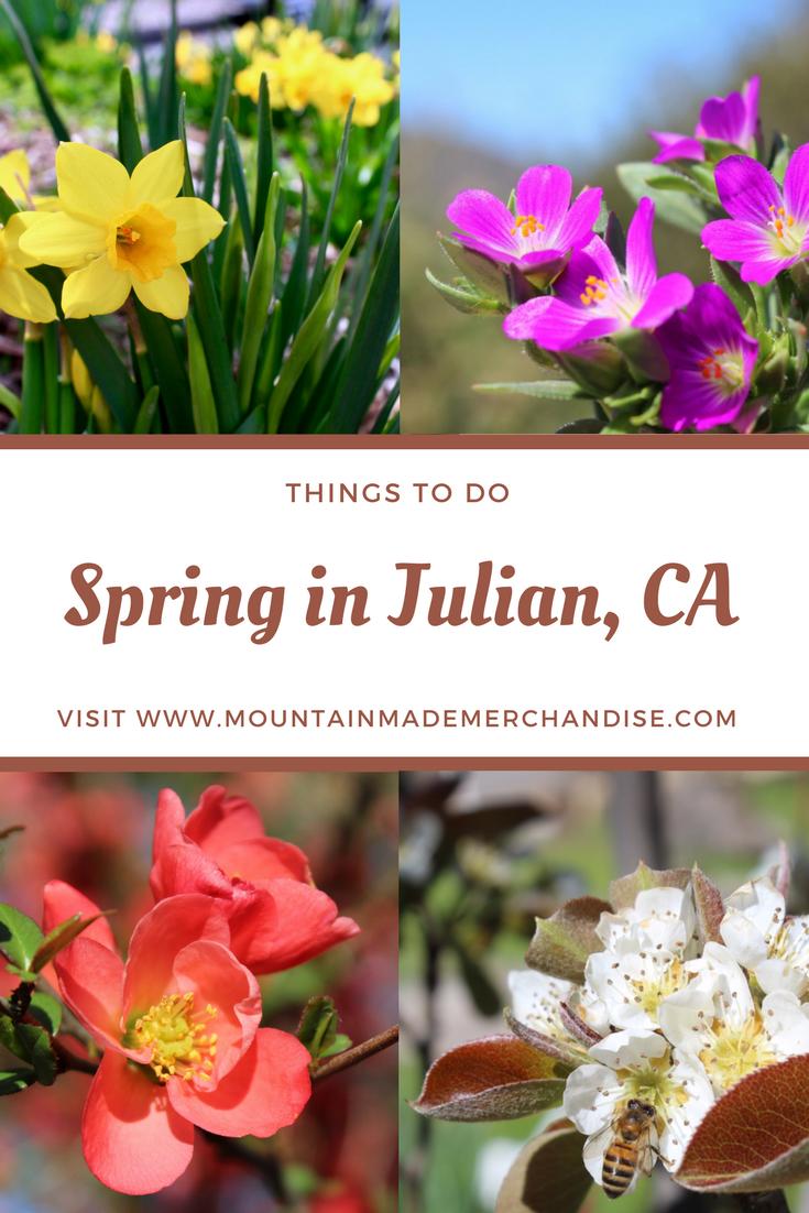 Julian, Ca Spring Time