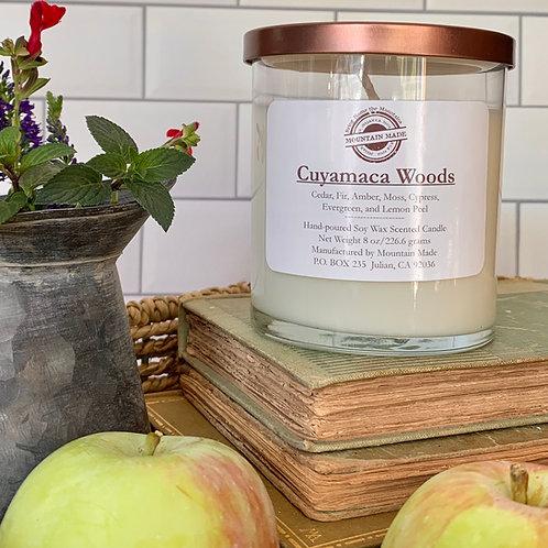 8oz Cuyamaca Woods Candle