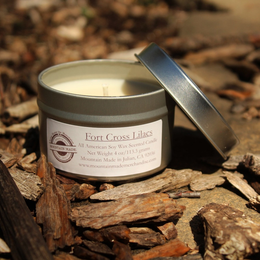 Mountain Made Soy Candle handmade in Julian, CA