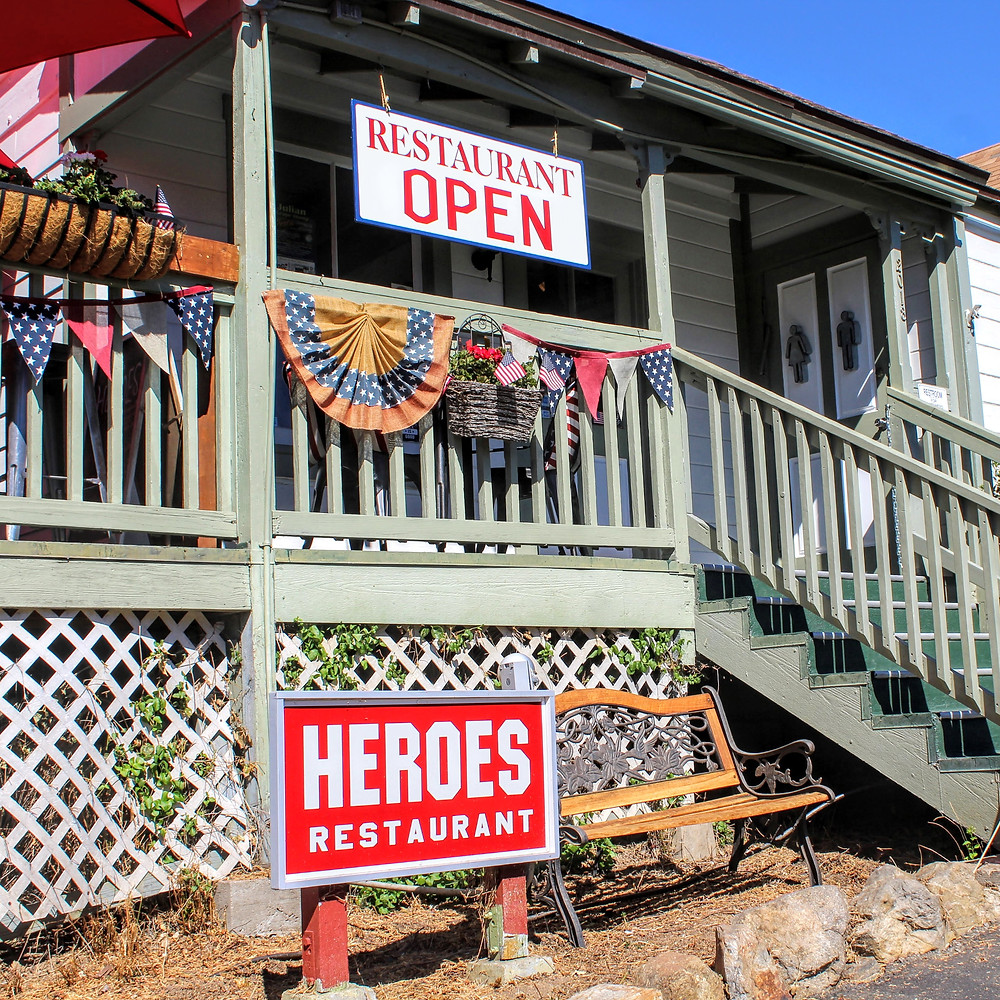 Heroes | Places to eat in Julian, CA