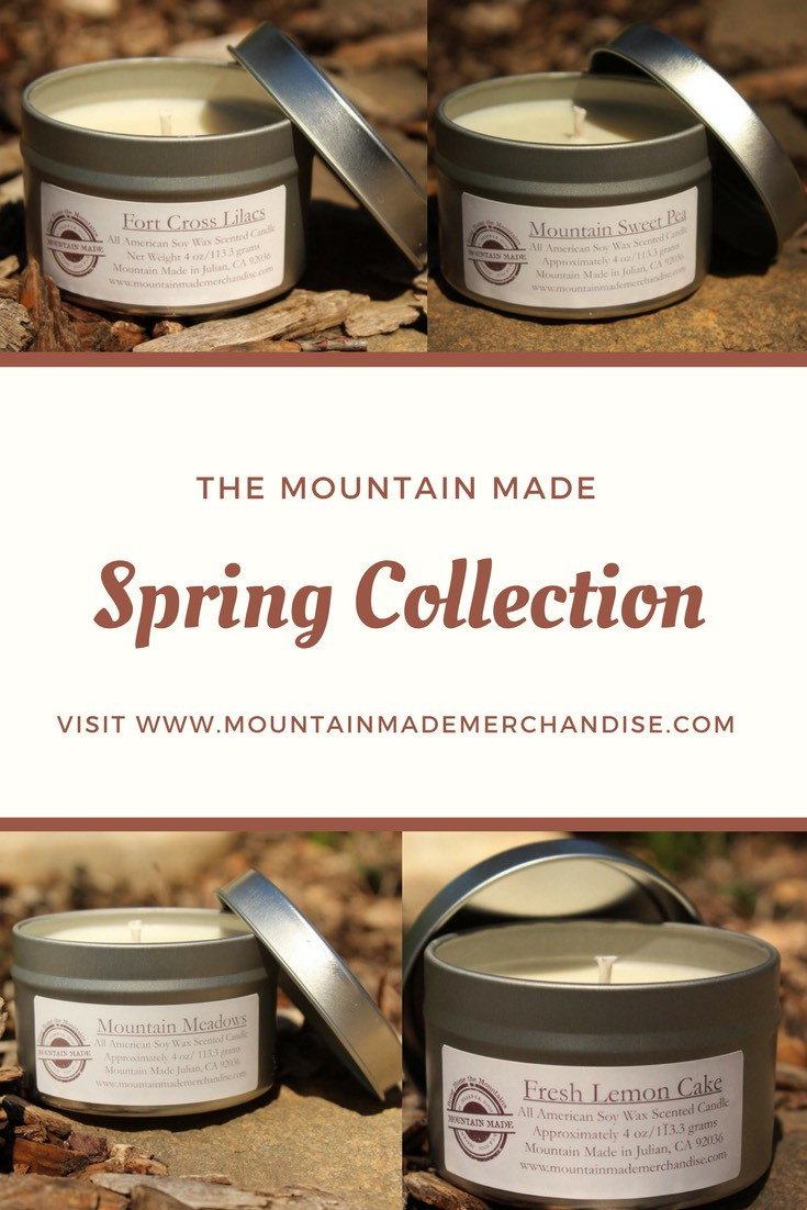 Mountain Made Spring Candle Collection