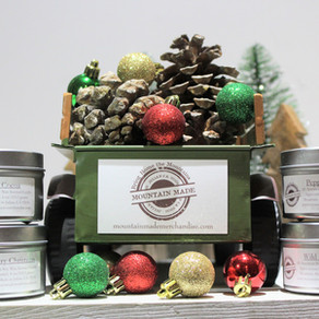 Our Christmas Candle Collection