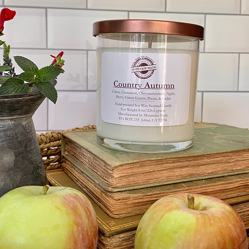 8 oz Country Autumn Soy Candle