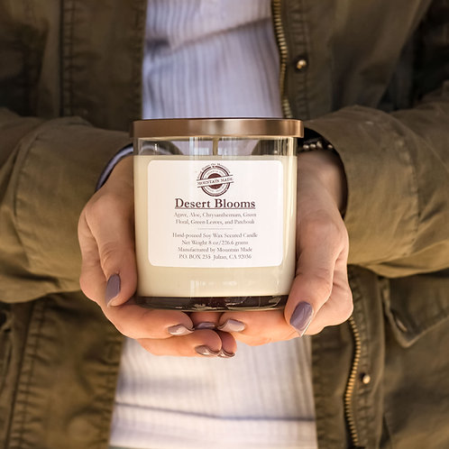 8 oz Desert Blooms Soy Candle
