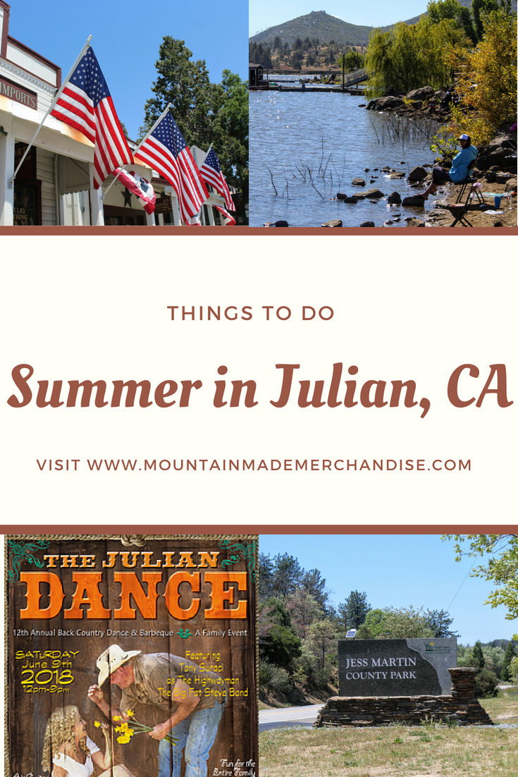 Summer in Julia, CA