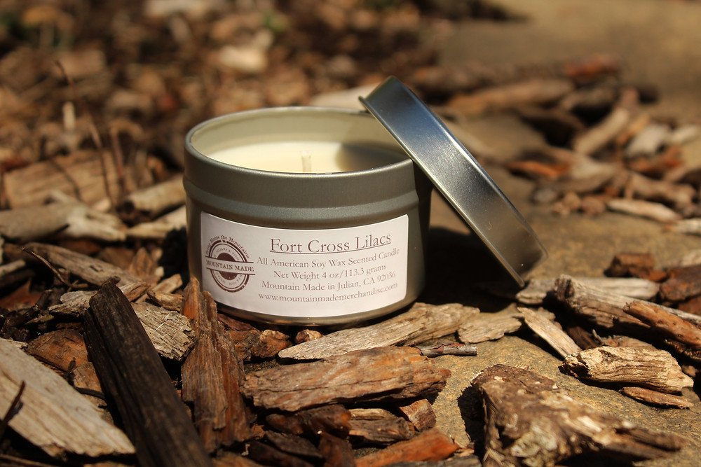 Fort Cross Lilac Candle