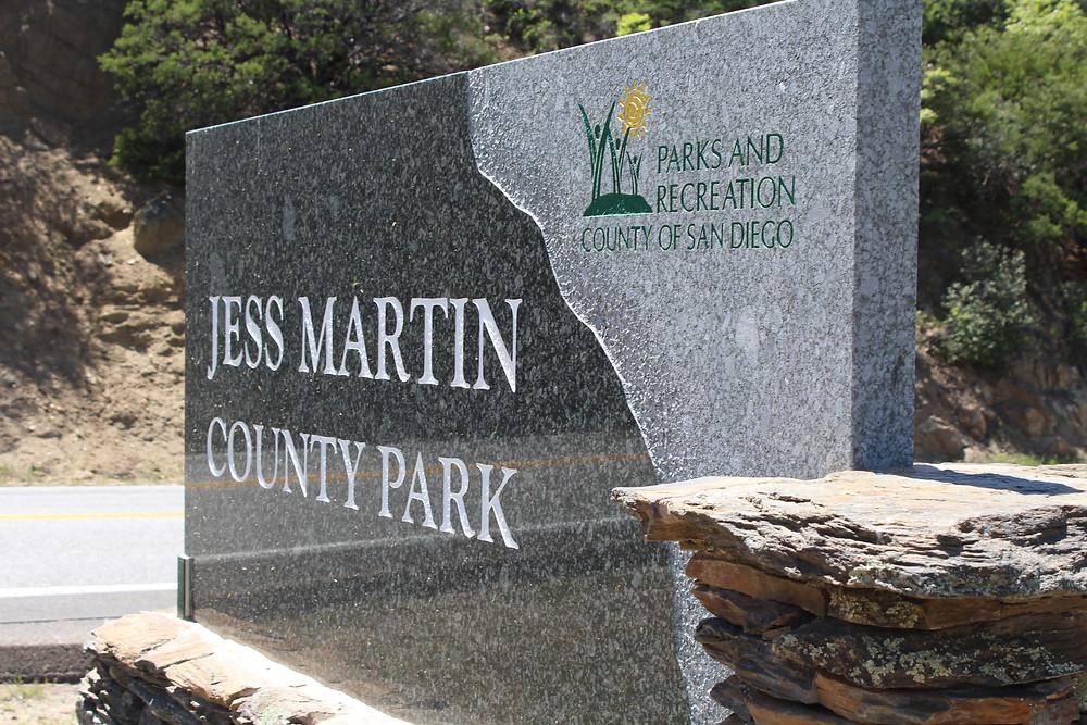 Jess Martin Park in Julian, CA