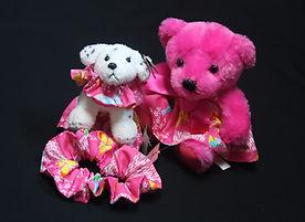 Bears, puppies, scrunchies.JPG