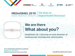 Come see us @ MEDinIsrael2019