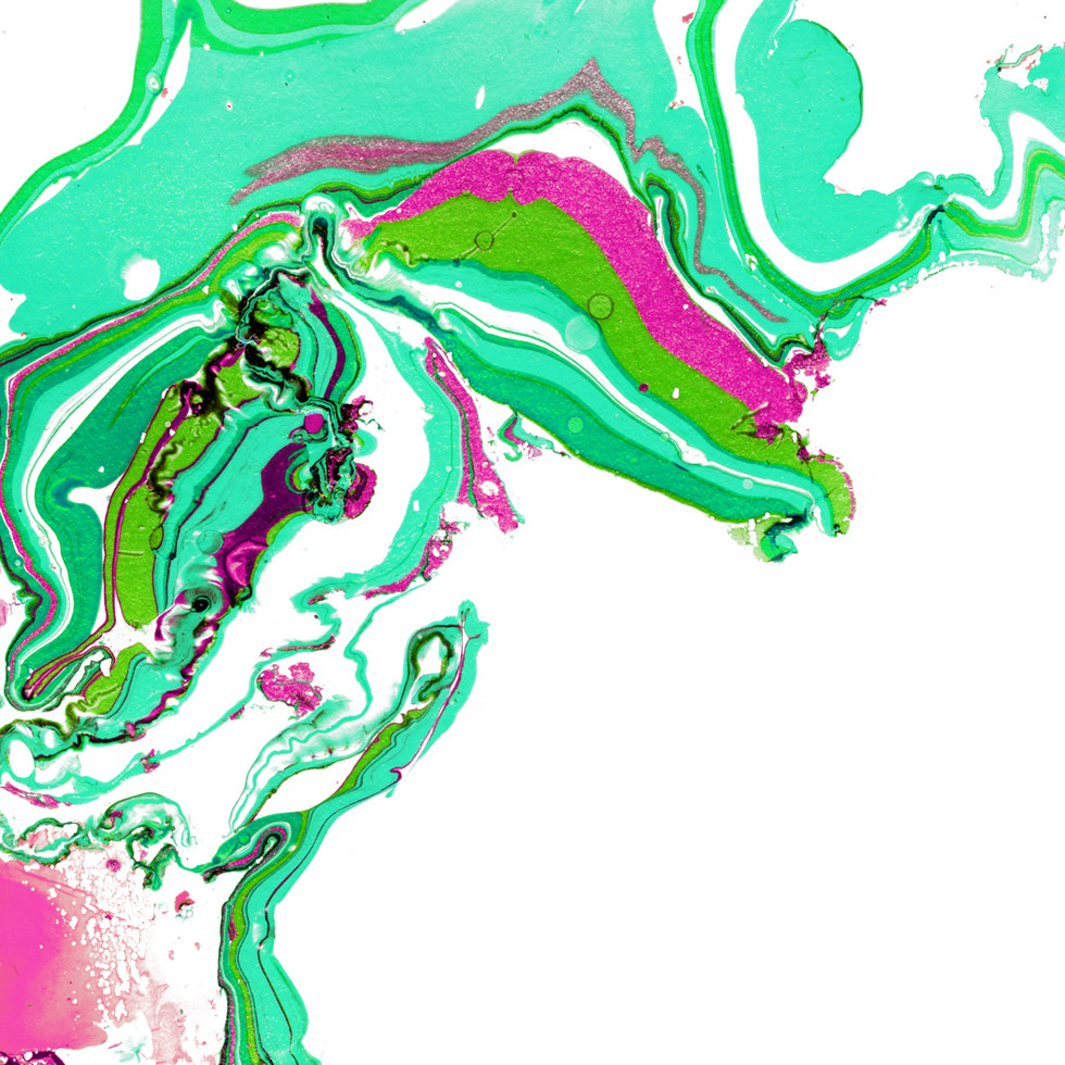 Paint Abstract Green