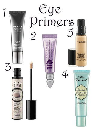 Eyeshadow constantly fading? EYE PRIMER is the answer to your prayers!