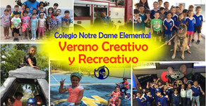 VERANO CREATIVO Y RECREATIVO 2019