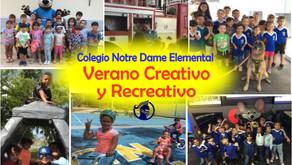 VERANO CREATIVO Y RECREATIVO 2019
