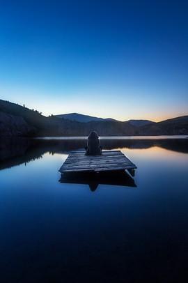 BLUE LAKE, SAINT BATHANS