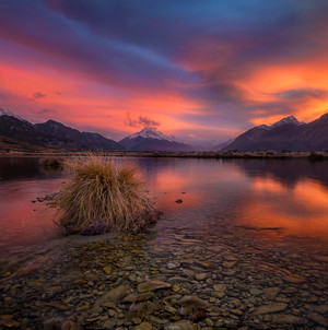 RIVERS OF MT COOK NP
