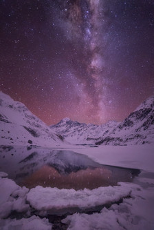 HOOKER LAKE, MOUNT COOK