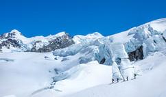 ICE FEATURE, TASMAN GLACIER