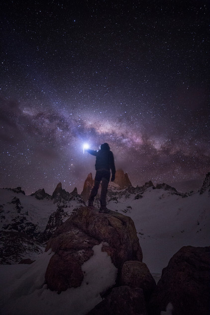 MT FITZROY NIGHT