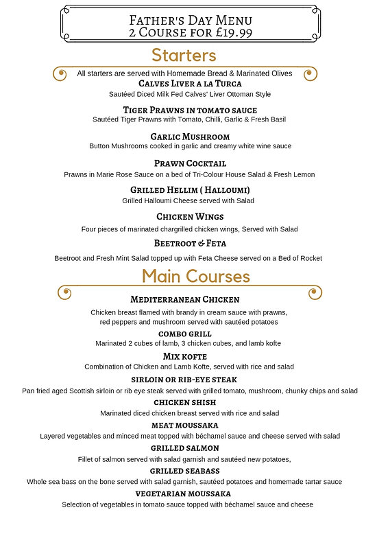 fathers day menu, beer, orpington, bromley, fathers day, menu, restaurant, bar, kebab, meze