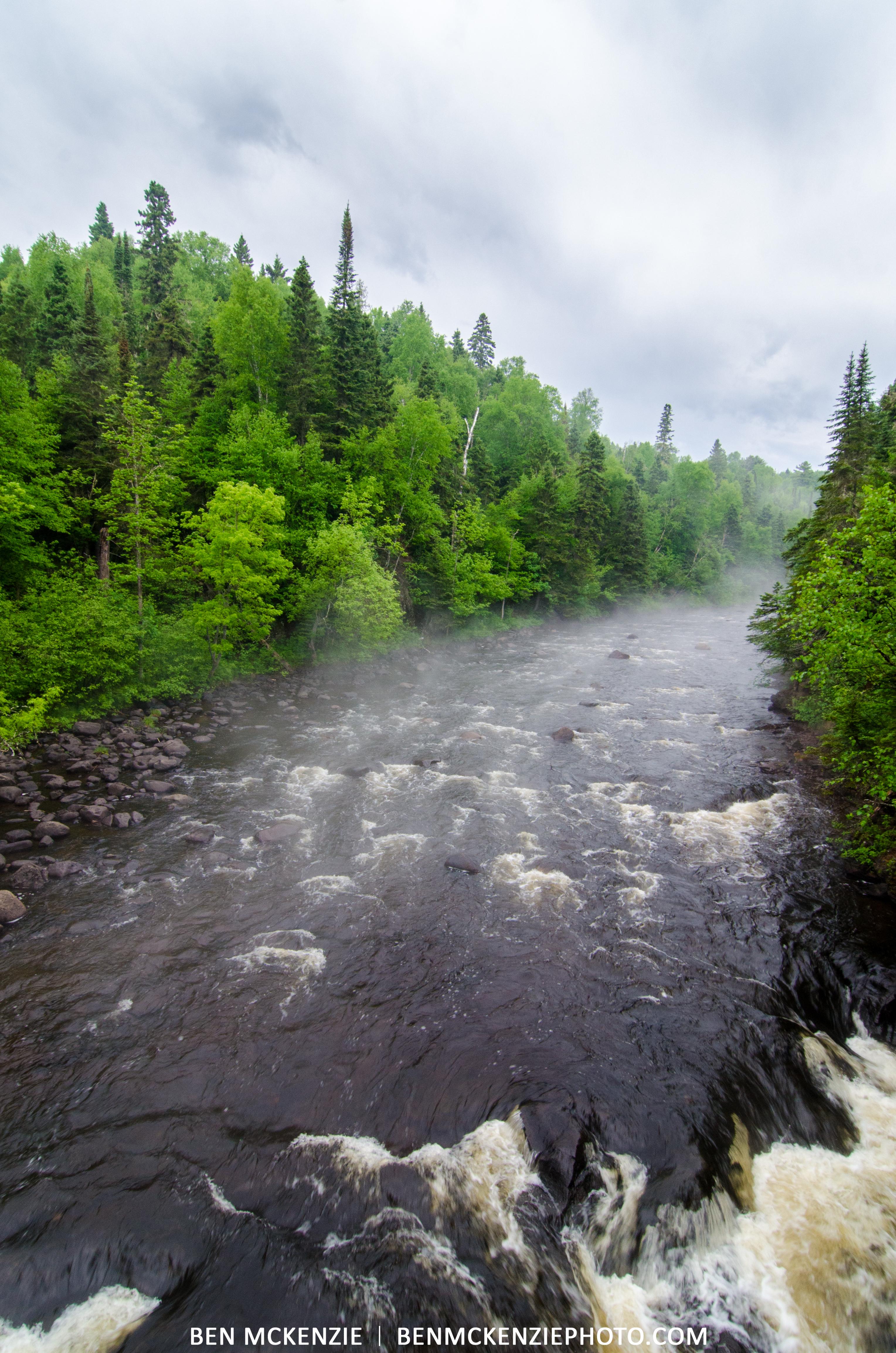 Foggy River W