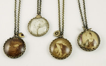 Antique Photos Necklaces