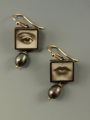 Eye & Mouth Earrings