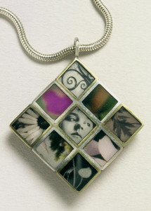 Collage Diamond Pendant