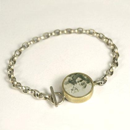 Custom Photo Chain Bracelet(ORDER) Personalized